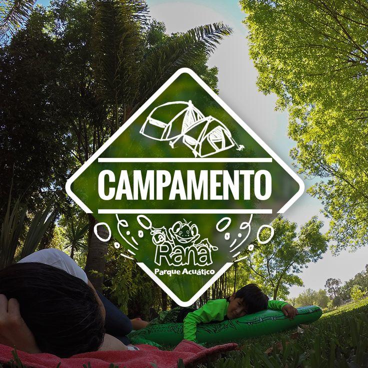 Parque Acuático La Rana. Campamento ¿Necesidad de escapar de la rutina? #camping #LaRana