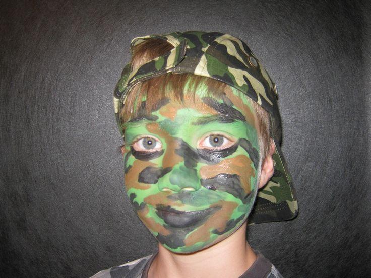 Camo Fx Face Camo Paint Patterns