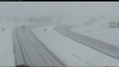 Mother's Day Snow - 2015 Rapid City, SD Safe Travel USA