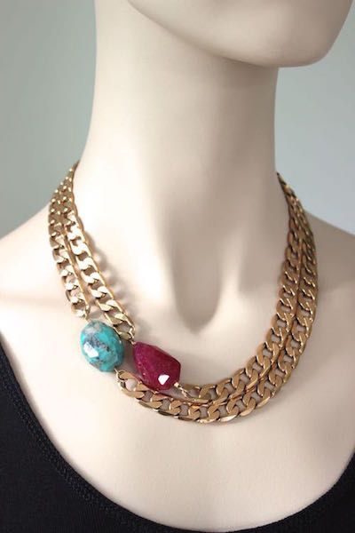 Chunky chokers www.cathypope.co.nz