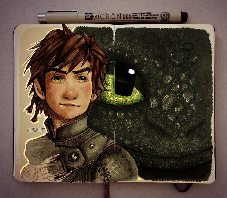 Hiccup and Toothless by Nummyumy.deviantart.com on @DeviantArt. There are no words......