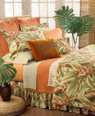 Amazon.com: Tommy Bahama Ginger Leaf Queen Duvet: Home & Kitchen