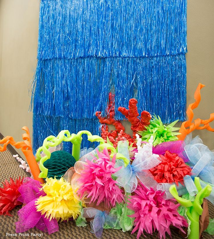 How To Make A Coral Reef Decoration