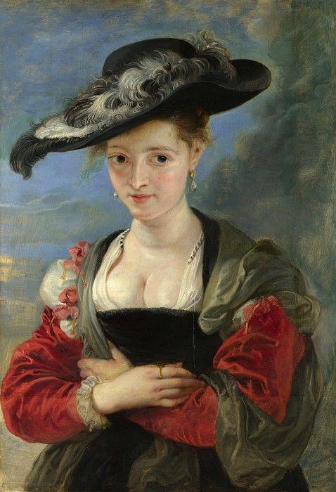 Портрет Сюзанны Фоурмент (Соломенная шляпка). Питер Пауль Рубенс