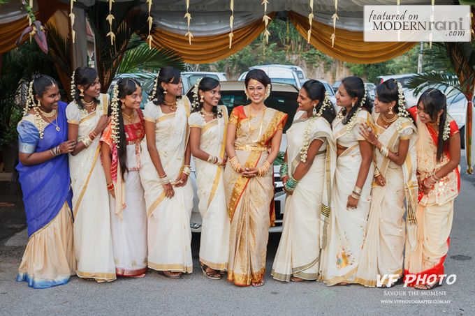 Kerala wedding bride