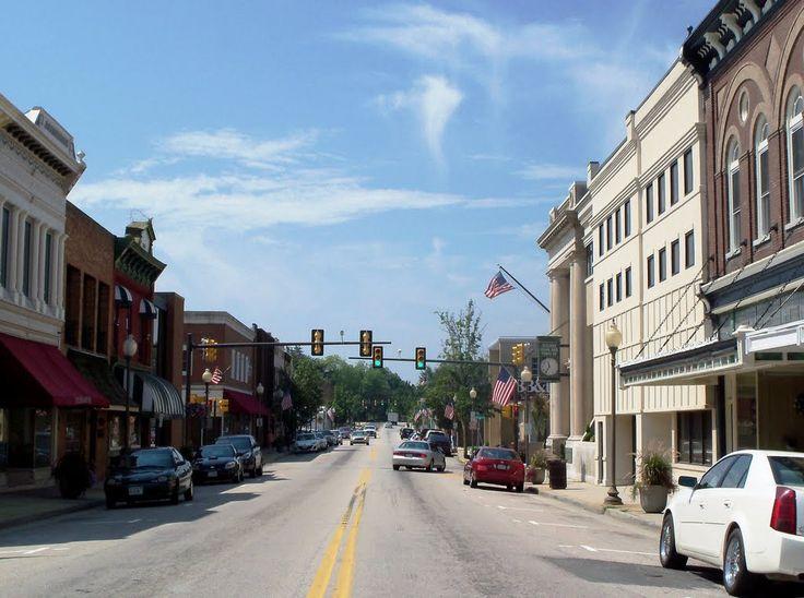 Blackstone, VA nel Virginia