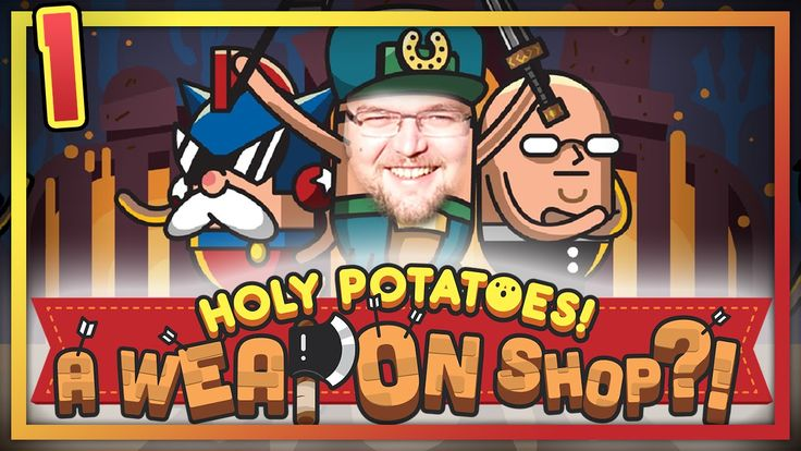CZYM JEST - HOLY POTATOES! A WEAPON SHOP?! #1[gameplay, gry indie, pl]