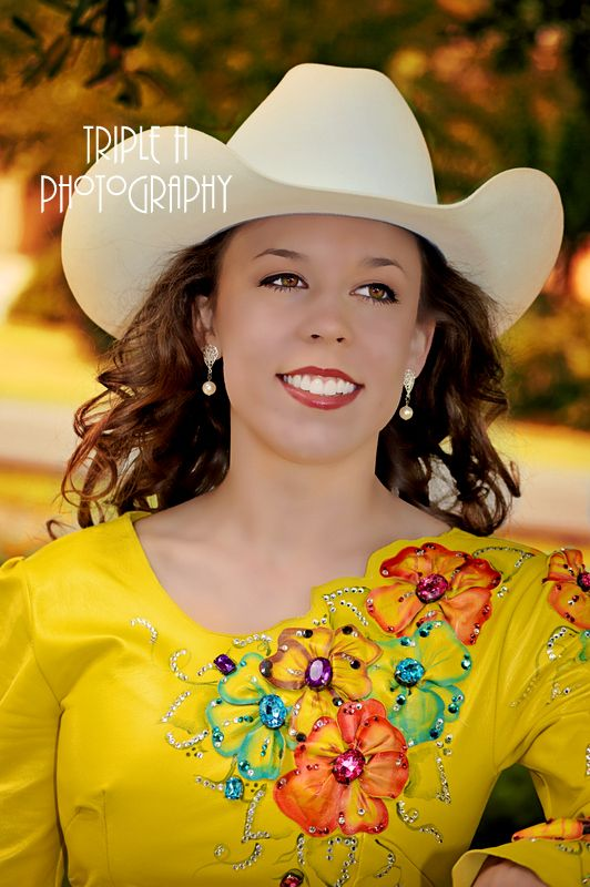 Head Shot For A Rodeo Queen Pageant Edited With Greater