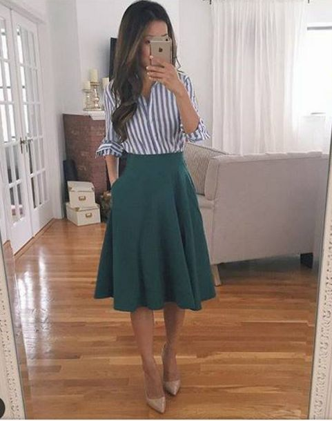 Stitch fix stylist- I really like fun, flow-y skirts that can work for both work and weddings etc.