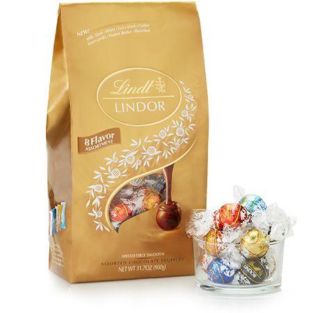 Ultimate 8-flavor Assortment Chocolate LINDOR Truffles 75-pc Bag #lindorsmoothstyles