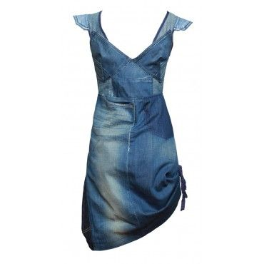 cocktail denim dress