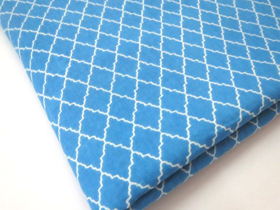 1 yard turquoise blue India Cotton Fabric/Natural by CraftyJaipur