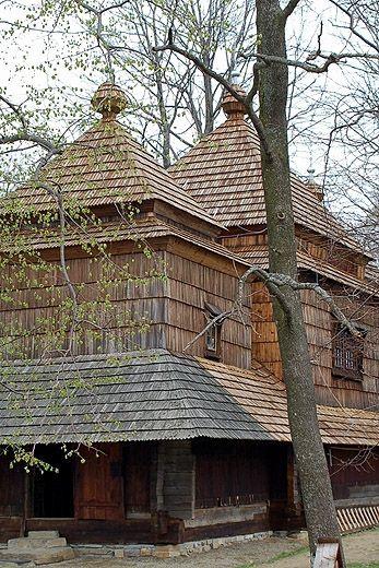 Smolnik - cerkiew pod wezwaniem św. Michała Archanioła. Bieszczady