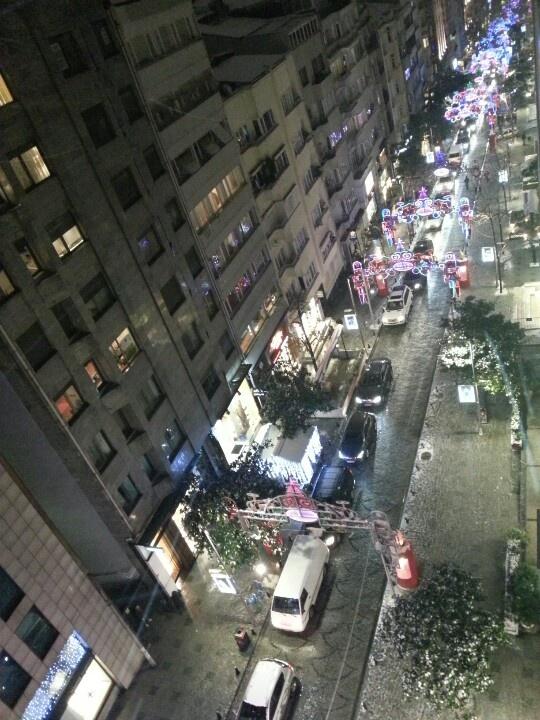 Aerial view of Abdi İpekçi Ave Nişantaşı, İstanbul