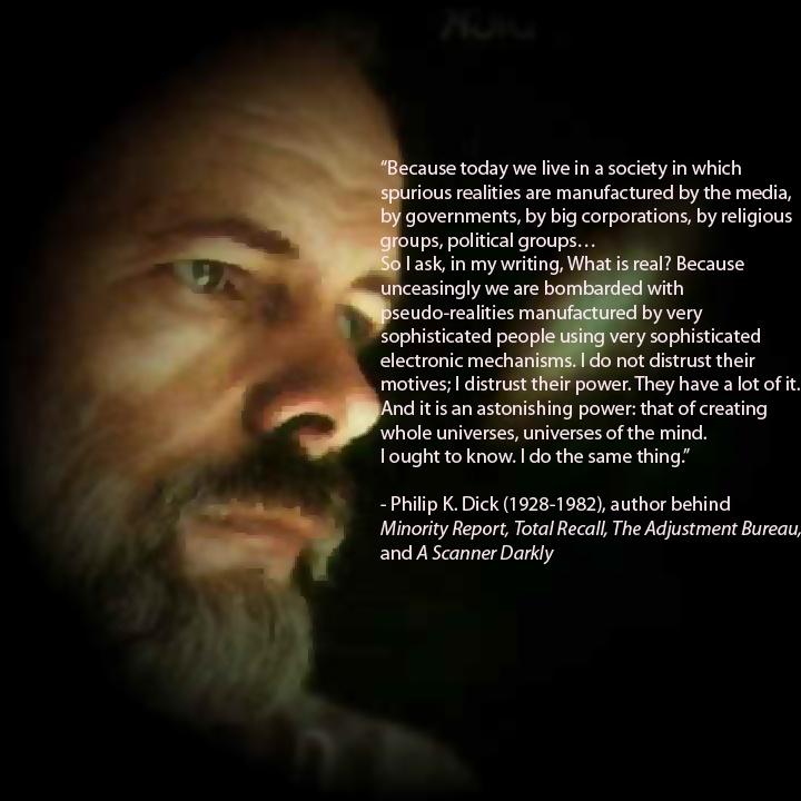 philip k dick quotes