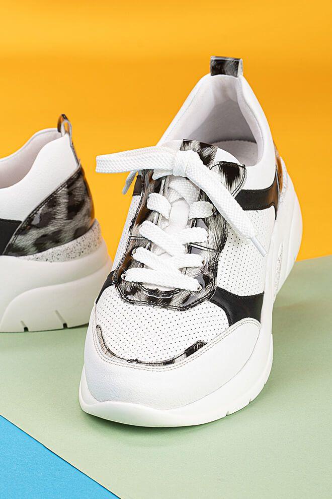 Rieker Damen Sneaker in weiß   Schuhfachmann