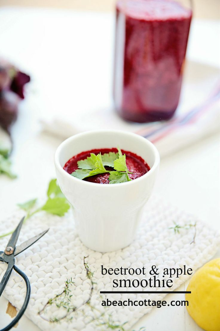 Beet, Apple, And Mint Juice Recipe — Dishmaps