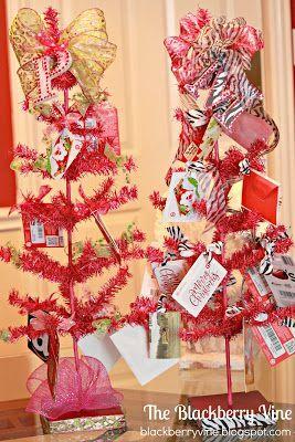 The Blackberry Vine: Gift Card Tree for Teacher