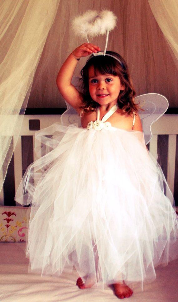 Disfraz de ngel para ni o casero el paso a paso fotos for Disfraces de angeles