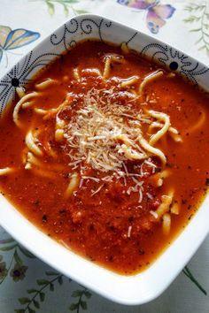Mania Gotowania: Najlepsza zupa pomidorowa