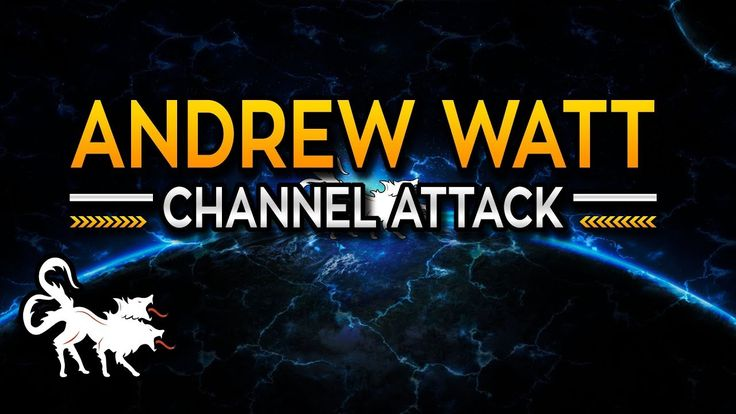 Andrew Watt is actively trying to get my channel shut down