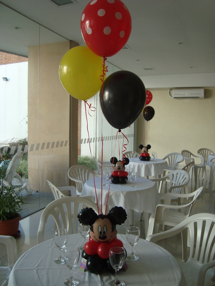 Mickey Mouse Centrepiece Bouquet