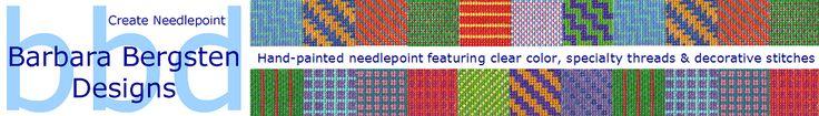 Barbara Bergsten Needlepoint Designs