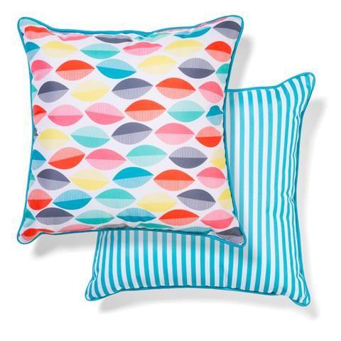 Outdoor Chair Cushion - Brights, 38cm | Kmart