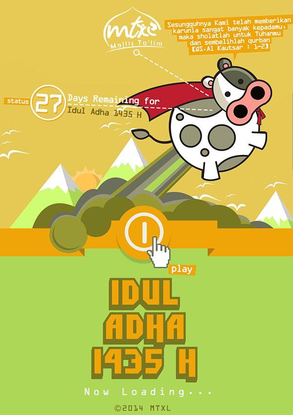 MTXL Idul Adha 1435H on Behance