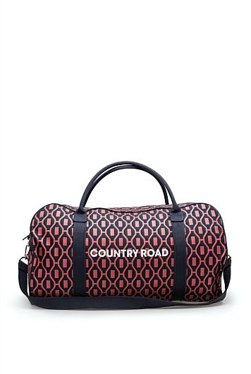 Bold Geo Logo Tote - Country Road overnight bag
