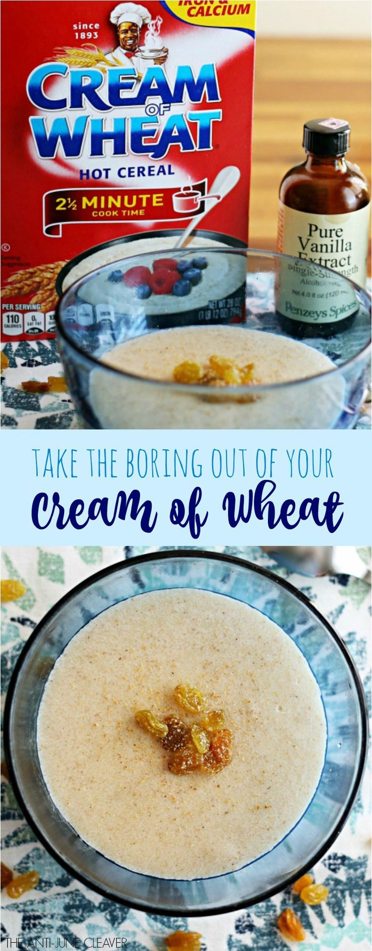 Life is Too Short to Eat Boring Cream of Wheat                                                                                                                                                      More