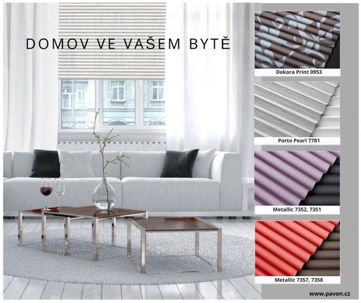 Plisé PAVON Oblečte svá okna do nového! Give a new look to your windows! https://www.pavon.cz/plise