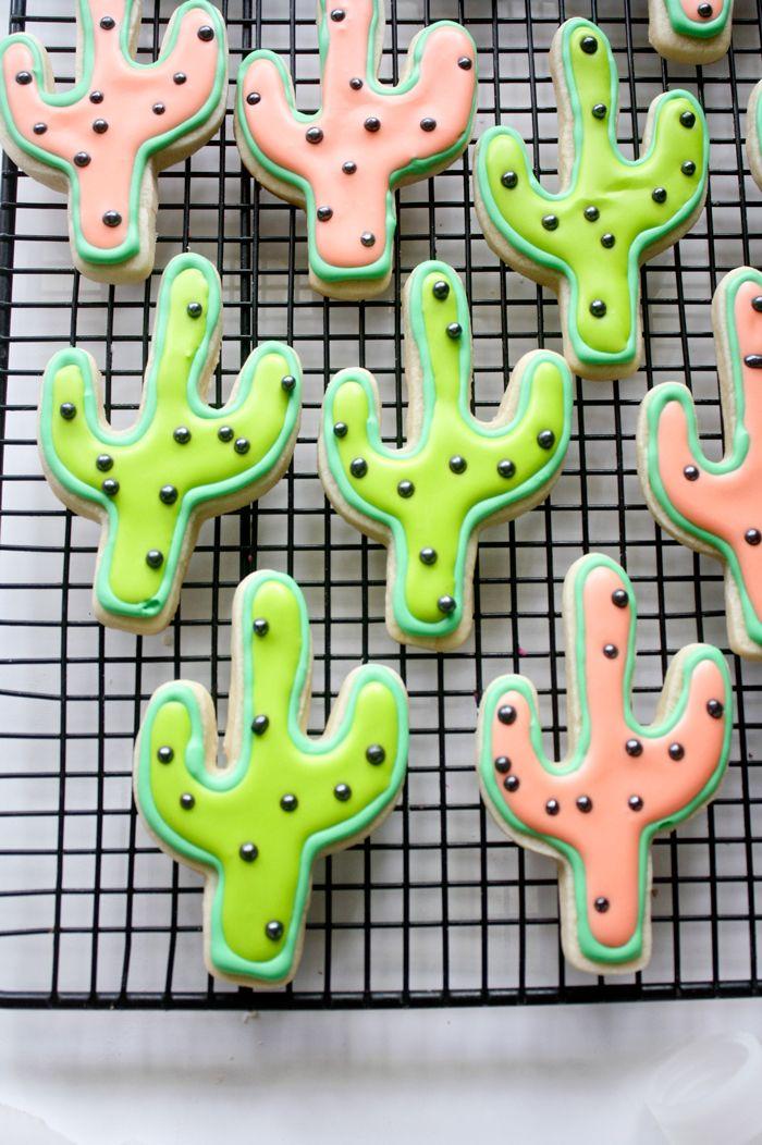 Cactus sugar cookies!