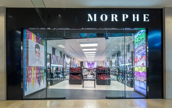 1d65844ac Bullring welcomes first Morphe Cosmetics store outside of London - Retail  Focus - Retail Blog For Interior Design and Visual Merchandising