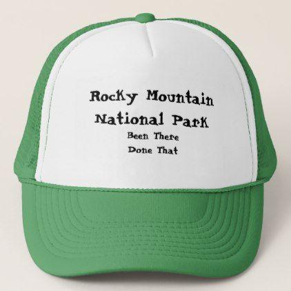 736d60038cc Rocky Mountain National Park Trucker Hat