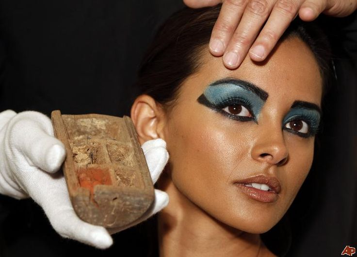 an Egyptian makeup palette
