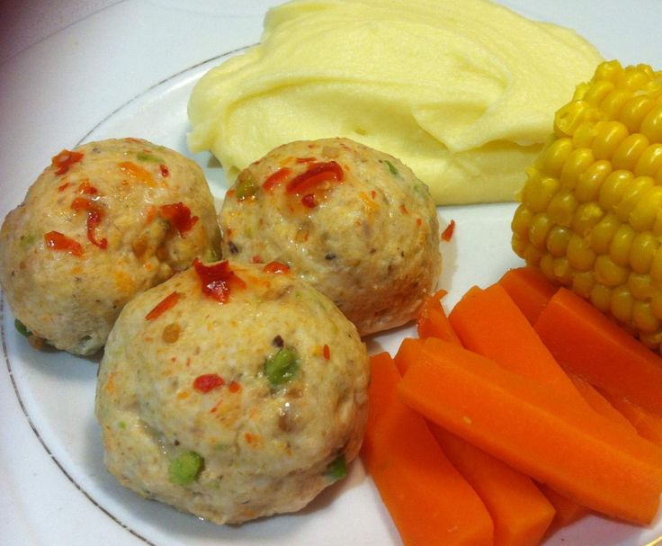 Recipe Sweet Chilli Chicken Rissoles by Tracy's Thermomix - Recipe of category Main dishes - meat