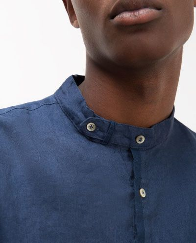 17 best ideas about chemise col mao homme on pinterest. Black Bedroom Furniture Sets. Home Design Ideas