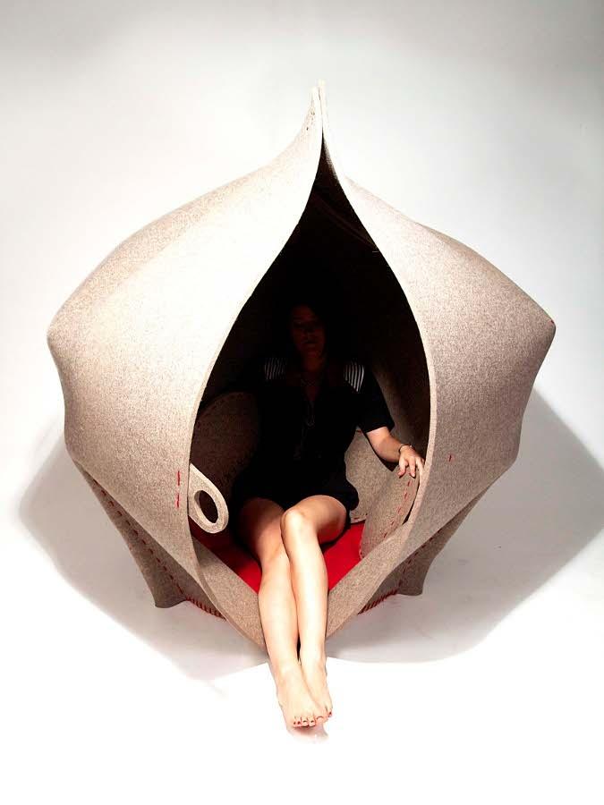 HUSH, a private space by @Dan Uyemura Uyemura Ulmer xx Sewell  at Clerkenwell Design Week 2013