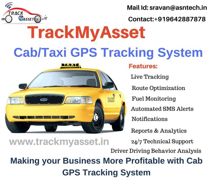 Are you an Owner of Cab Industry? Are you??  Do you have an Idea about How does Cab/Taxi Industry get Benefited with GPS Tracking System? Don't you?  Benefits of Using a Taxi GPS Tracking System to Monitor Cars  Whether your Cab Company Owns a few Cars or a few Hundred Cars, you need GPS Tracking for Taxi Cabs to Manage your Fleet Properly.   With a Cab Tracking System, you know exactly where your Cabs are at all times. You don't have to worry that your drivers are taking unauthorized routes