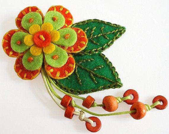 Flor con colgandejos