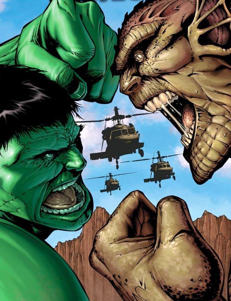 Hulk vs Abomination http://multiuniversoheroes.blogspot.com/2015/09/villanos-marvel-abominacion-emil-blonsky.html