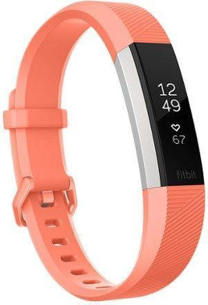 Fitbit Alta Heart Rate Monitor Fitness Tracker Coral S #fitnesstrackerwatch