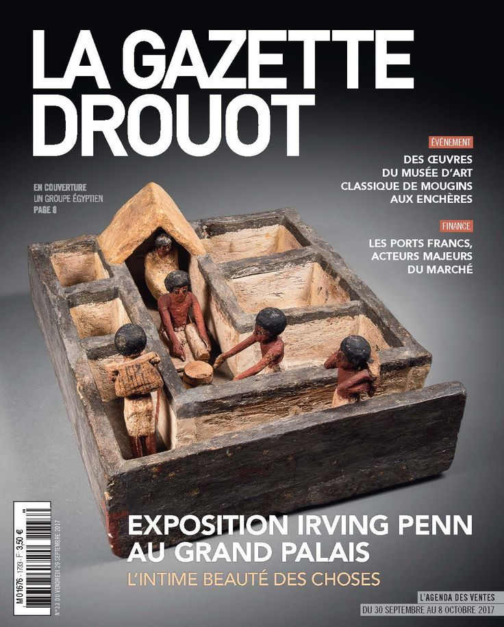 Gazette Drouot n°33 du 29 septembre 2017. #archeologie #egypt #webzine #artmarket