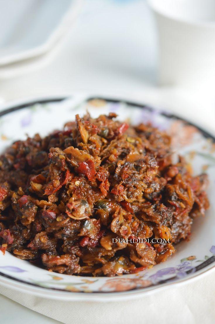 Diah Didi's Kitchen: Rendang Kerang