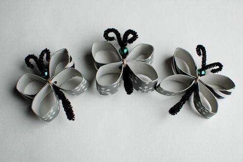 Cardboard Tube Butterflies by freshlyplanted, via Flickr