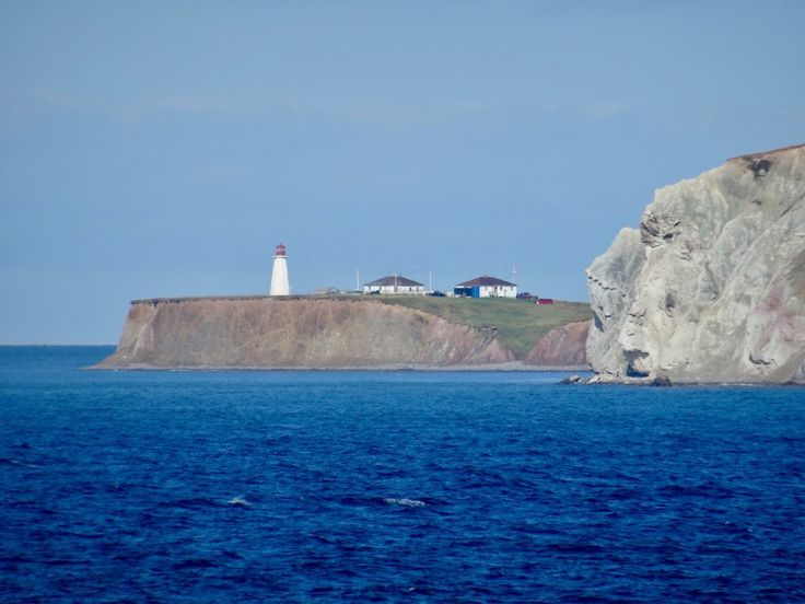 Lighthouse in the Magdalen Islands