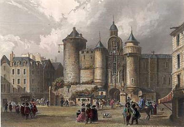 Lieux et monuments disparus de Paris, la visite fantôme: la forteresse du Grand Châtelet (Actuelle place du Châtelet)