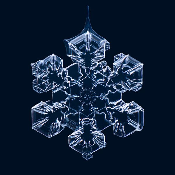 Nature made this snowflake. Man can imitate this but it will never compare. Need to give credit to this photo: Matthias Lenke (Thank you for letting me share this.)