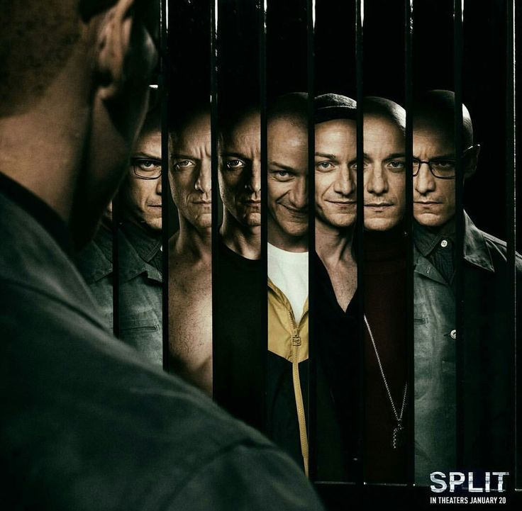 New Split poster, shared by James McAvoy on his instagram feed